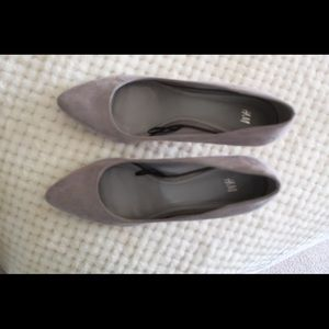 H and M Gray Heels